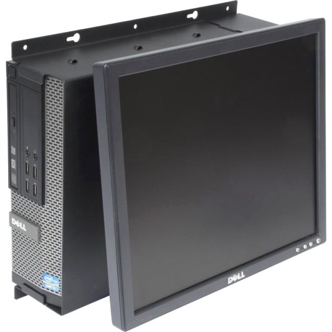 Rack Solutions Dell Optiplex 790 SFF Wall Mount - Tilt Monitor 104-2324