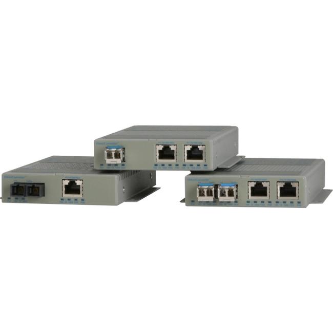 Omnitron GPoE/S Transceiver/Media Converter 9403-1-29