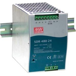 B+B 480W Single Output Industrial Din Rail With PFC Function SDR-480-24