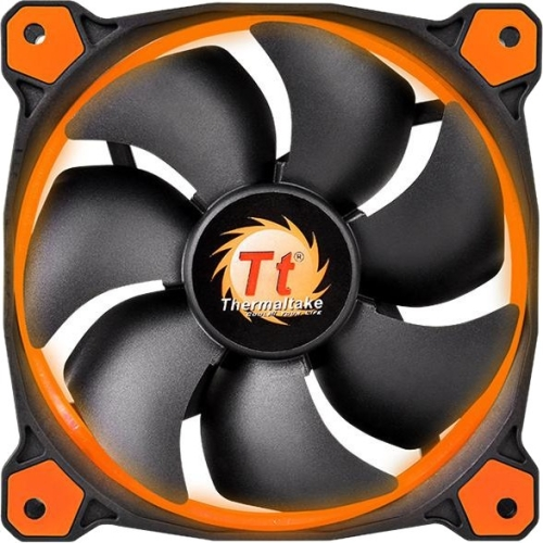 Thermaltake Riing 14 High Static Pressure LED Radiator Fan CL-F039-PL14OR-A