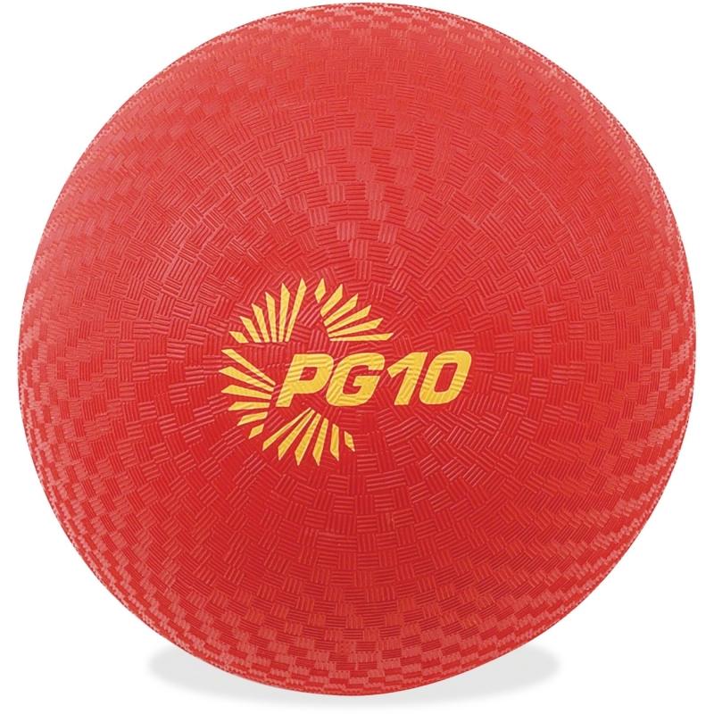 "Champion Sports 10"" Plaground Ball PG10RD CSIPG10RD PG10"