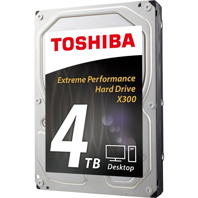 Toshiba X300 Desktop Internal Hard Drive - 4TB HDWE140XZSTA