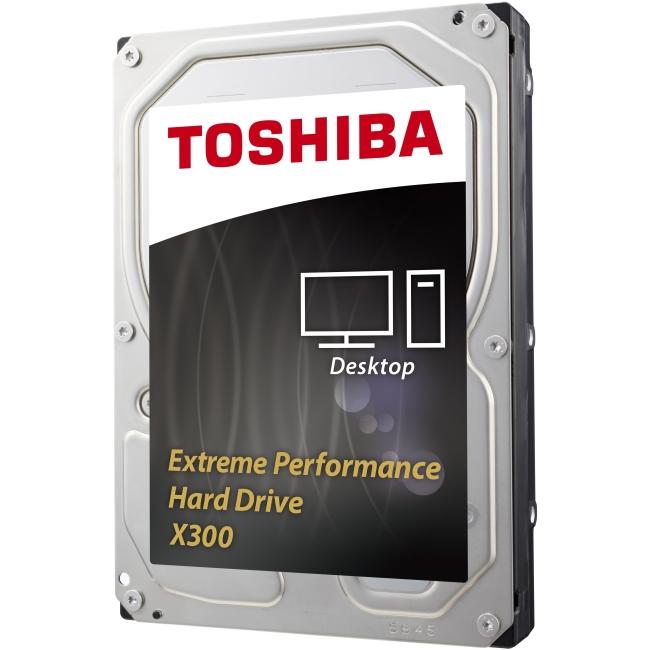 Toshiba X300 Desktop Internal Hard Drive - 6TB HDWE160XZSTA