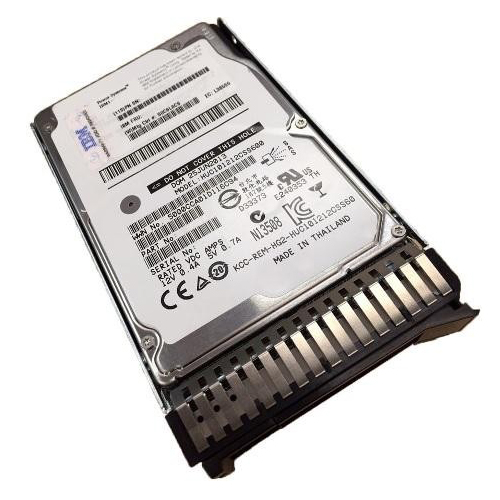 "Lenovo 600GB 15K 12Gbps SAS 2.5"" G3HS HDD 00WG665"
