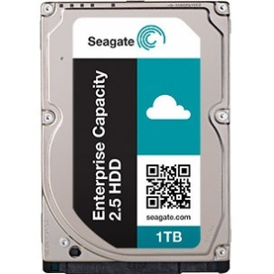 Seagate Enterprise Capacity 2.5 HDD SATA 6Gb/s 4KN 1TB Hard Drive With SED ST1000NX0343