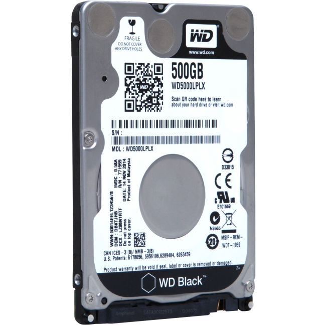 Western Digital Mobile 2.5-inch Hard Drives WD5000LPLX