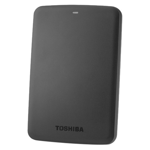 Toshiba 1TB Canvio Basics Portable Hard Drive (Black) HDTB310XK3AA
