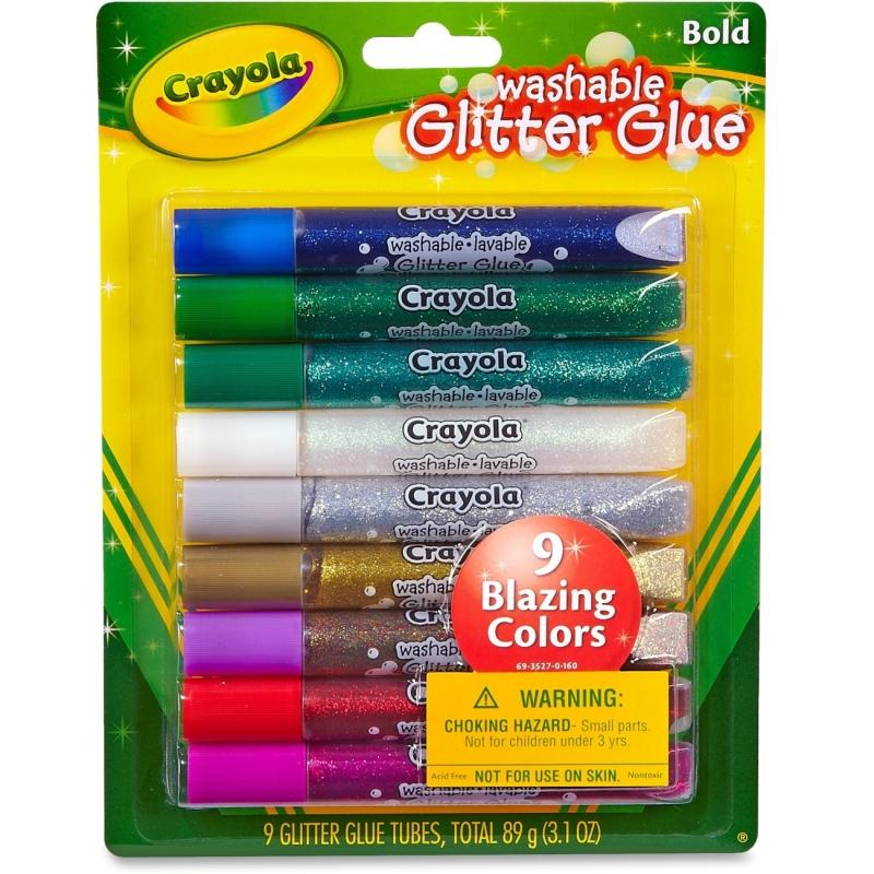 Crayola Washable Glitter Glue 693527 CYO693527