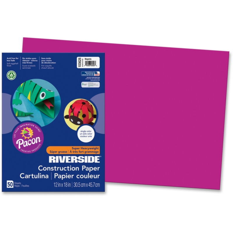 Pacon Riverside Groundwood Construction Paper 103628 PAC103628