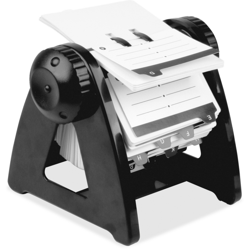 Lorell Refillable Rotary Card File 01032 LLR01032