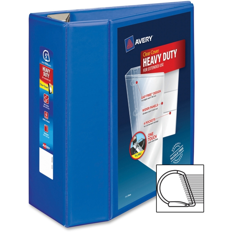 Avery One Touch EZD Heavy-duty Binder 79817 AVE79817