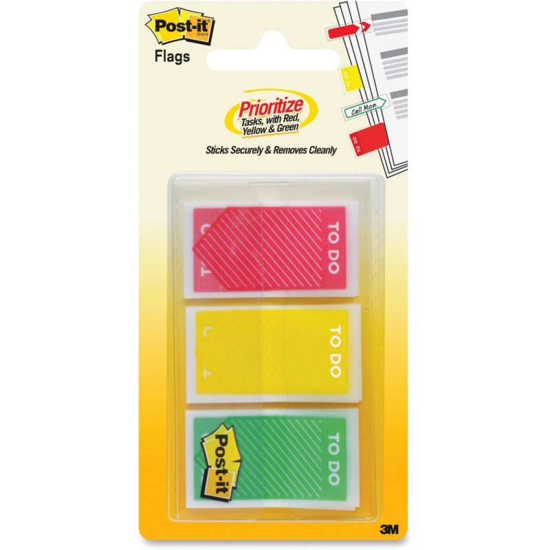 """Post-it 1"""" Color To Do Flags 682TODO MMM682TODO"""
