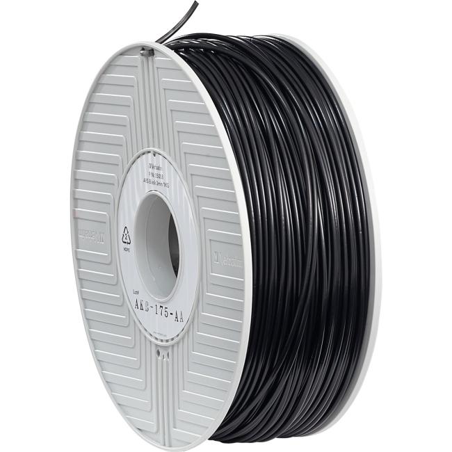 Verbatim ABS Filament 3mm 1kg Reel - Black 55008