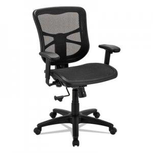 Brilliant Alera Elusion Series Air Mesh Mid Back Swivel Tilt Chair Black Aleel42B18 Evergreenethics Interior Chair Design Evergreenethicsorg