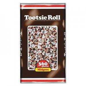 Tootsie Roll Midgees, Original, 38.8 oz Bag, 360 Pieces TOO7806