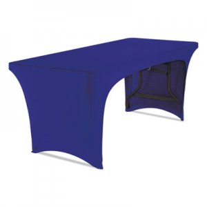 "Iceberg Stretch-Fabric Table Cover, Polyester/Spandex, 30"" x 72"", Blue ICE16546 16546"