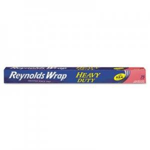 "Reynolds Wrap Heavy Duty Aluminum Foil Roll, 18"" x 75 ft, Silver, 20/Carton RFPF28028CT PAC F28028"