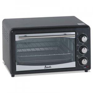 Avanti Toaster Oven, 4 Slice Capacity, Stainless Steel/Black AVAPOW61B POW61B