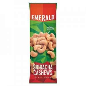 Emerald Snack Nuts, Sriracha Cashews, 1.25 oz Tube, 12/Box DFD93917 112189