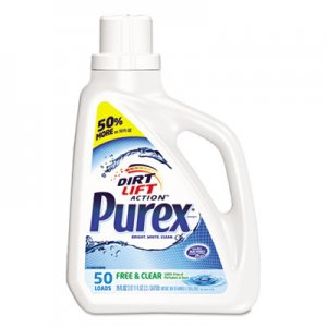Purex Free and Clear Liquid Laundry Detergent, Unscented, 75 oz Bottle DIA2420006040EA 2420006040