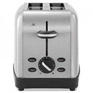 Oster Extra Wide Slot Toaster, 2-Slice, 8 x 12 7/8 x 8 1/2, Stainless Steel OSRRWF2S TSSTTRWF2S001