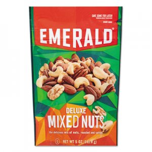 Emerald Deluxe Mixed Nuts, 5 oz Pack, 6/Carton DFD53664 109223