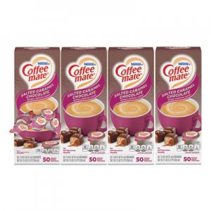 Coffee mate Liquid Coffee Creamer, Italian Sweet Creme, 0.38 oz Mini Cups, 50/Box, 4 Boxes/Carton, 200 Total