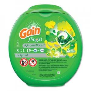 Gain Flings Detergent Pods, Original, 72/Container, 4 Container/Carton PGC86792CT 86792