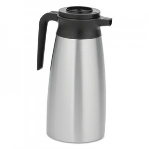 BUNN 1.9 Liter Thermal Pitcher, Stainless Steel/Black BUNVACPIT19 39430.0000