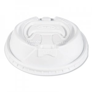 Dart Optima Reclosable Lids for Paper Hot Cups for 10-24 oz Cups, White, 1000/Carton SCCOPT316 OPT316