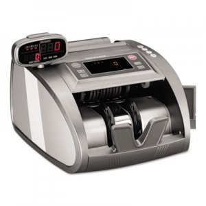 SteelMaster 4820 Bill Counter with Counterfeit Detection, 1200 Bills/Min, Charcoal Gray MMF2004820C8 2004820C8