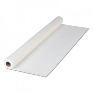 "Hoffmaster Plastic Roll Tablecover, 40"" x 300 ft, White HFM114000 114000"