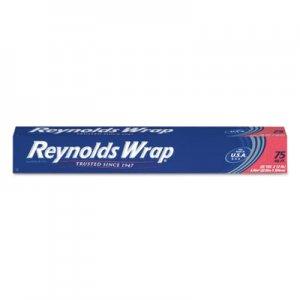 "Reynolds Wrap Standard Aluminum Foil Roll, 12"" x 75 ft, Silver, 35/Carton RFPF28015CT PAC F28015"