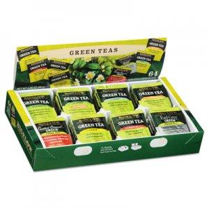 Bigelow Green Tea Assortment, Tea Bags, 64/Box, 6 Boxes/Carton BTC30568CT RCB30568CT