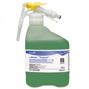 Diversey J-Works Tempest Solvent Free Cleaner/Degreaser, Unscented, 5L RTD Bottle DVO95002232 95002232