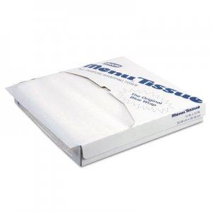 Dixie Menu Tissue Untreated Paper Sheets, 12 x 12, White, 1000/Pack, 10/Carton DXE862491 862491
