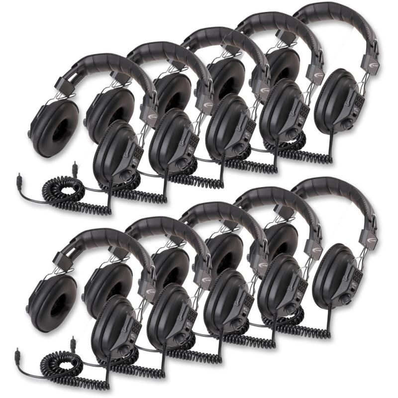 Califone Switchable Stereo/Mono Headphones 3068AV-10L CII3068AV10L