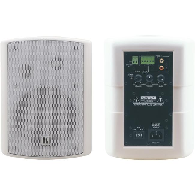 Kramer 5.25Inch, OnWall 2Way Powered Speakers TAVOR 5-O (W) Tavor 5-O