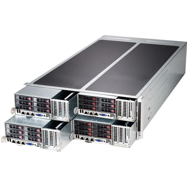 Supermicro SuperServer (Black) SYS-F628G2-FT+ F628G2-FT+