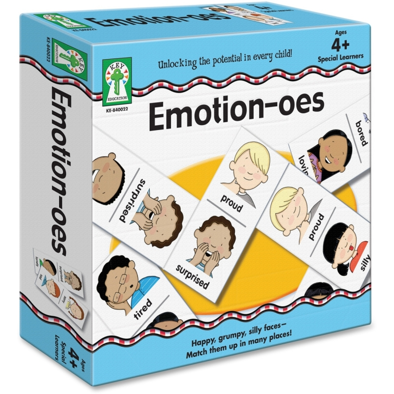 Carson-Dellosa Emotion-oes Board Game 840022 CDP840022