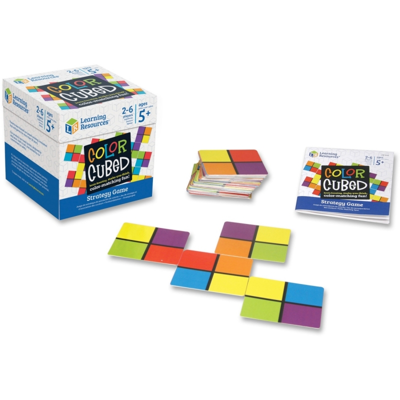 Learning Resources Color Cubed Strategy Game 9283 LRN9283