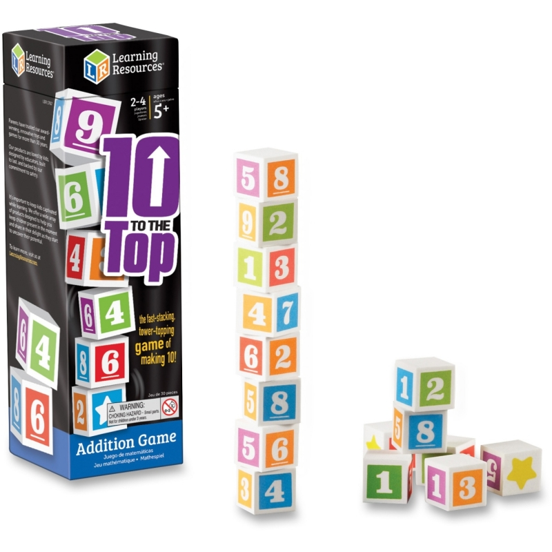 Learning Resources 10 To The Top Addition Game 1767 LRN1767