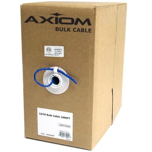 Axiom CAT5e Bulk Cable Spool 1000FT (Blue) C5EBCS-B1000-AX