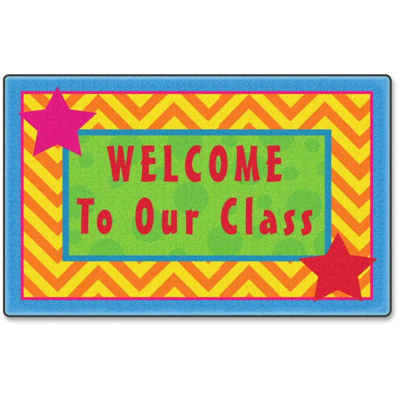 Flagship Carpets Silly Welcome Mat Seating Rug FE33208A FCIFE33208A