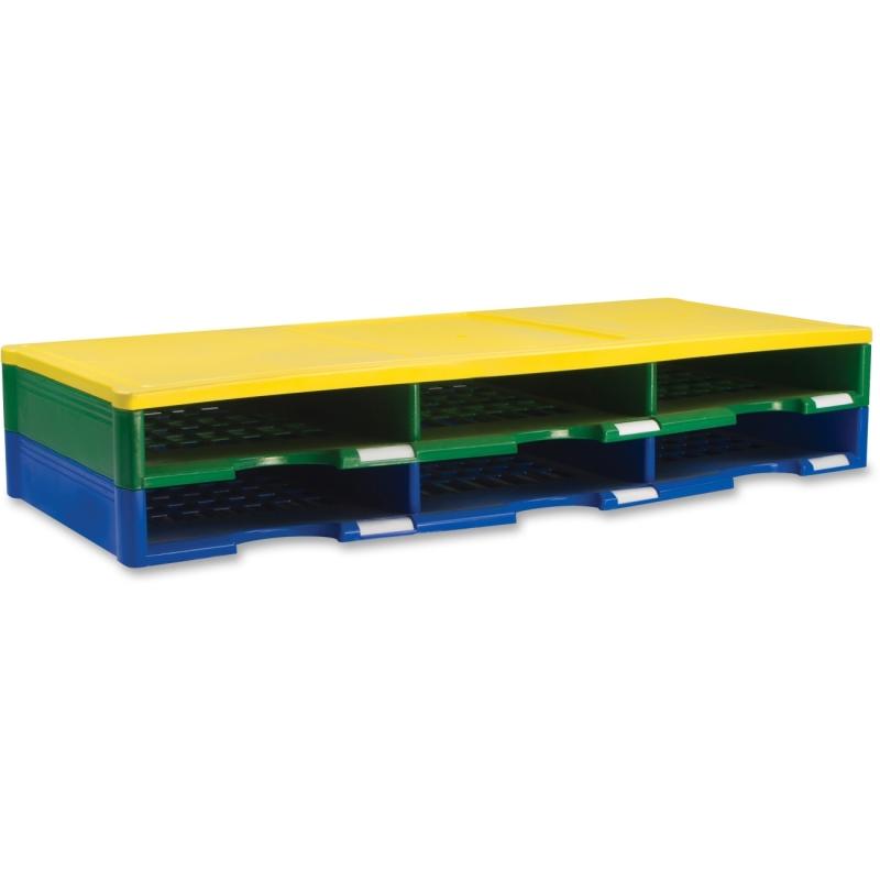 Storex Ind. 6 Piece Literature Organizer 61603E03C STX61603E03C