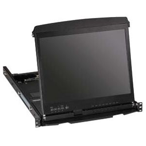 Black Box ServView Rack Mount LCD KVT517A-8DV-WIDE KVT517A