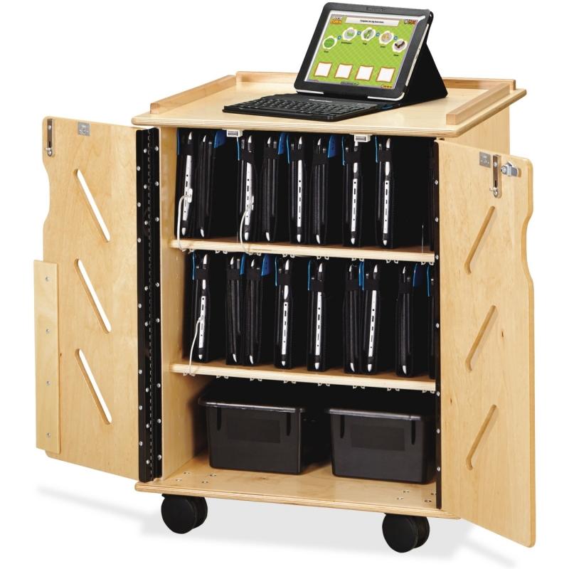 Jonti-Craft Laptop/Tablet Storage Cart 3400JC JNT3400JC
