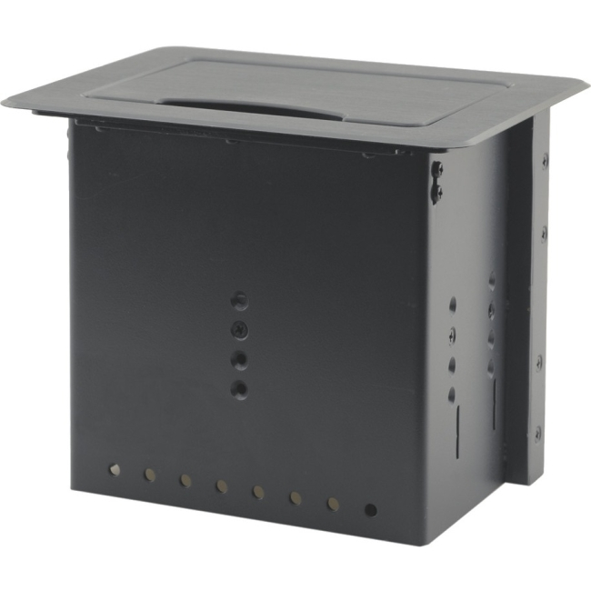 Kramer Table Mount Modular Multi-Connection Solution - Manually Retracting Lid TBUS-5XL