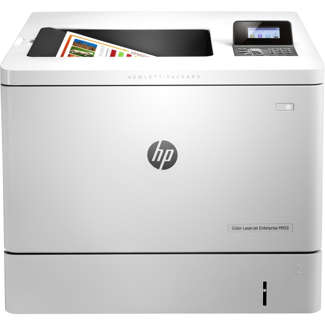 HP Color LaserJet Enterprise Printer - Refurbished B5L25AR#BGJ M553dn