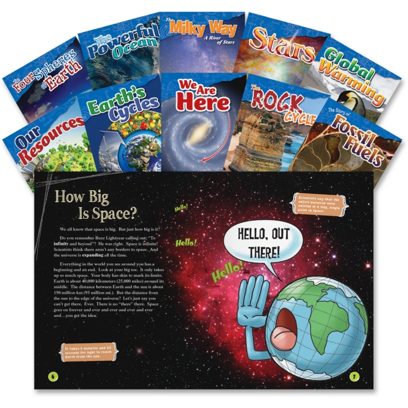 Shell 4&5 Grade Earth and Science Books 23423 SHL23423